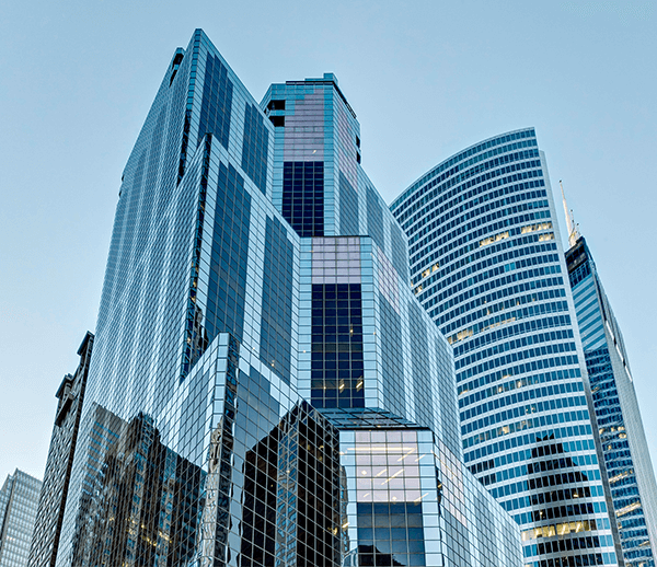 Outside view of One South Wacker